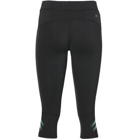 asics Icon Knee Tights Women Performance Black/Opal Green